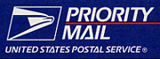 We ship via USPS Priority Mail